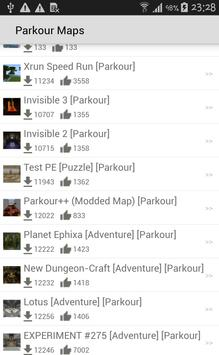 Maps of Minecraft PE apk screenshot