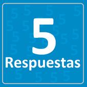 5 respuestas icon