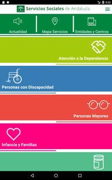 Servicios Sociales de Andalucía screenshot 4