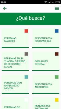 Servicios Sociales de Andalucía screenshot 1