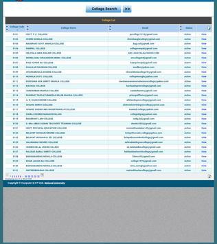 NU BD RESULTS & NOTICE apk screenshot
