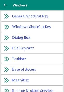 Shortcut Key - Computer screenshot 1