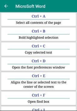 Shortcut Key - Computer screenshot 2
