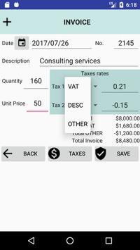 MyInvoice screenshot 1