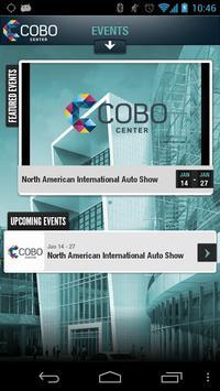 COBO Center poster