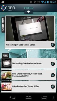 COBO Center screenshot 3