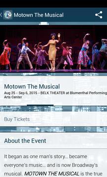 Blumenthal Performing Arts apk screenshot