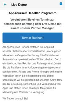 AppYourself Partner screenshot 2