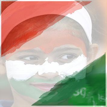 Flag Face Photo - India 2018 apk screenshot