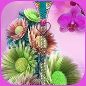 Flower Zipper Lock icon