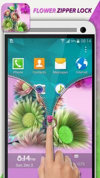 Flower Zipper Lock screenshot 3