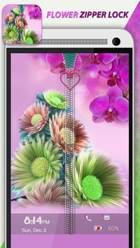 Flower Zipper Lock screenshot 1