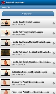 English for beginners screenshot 1