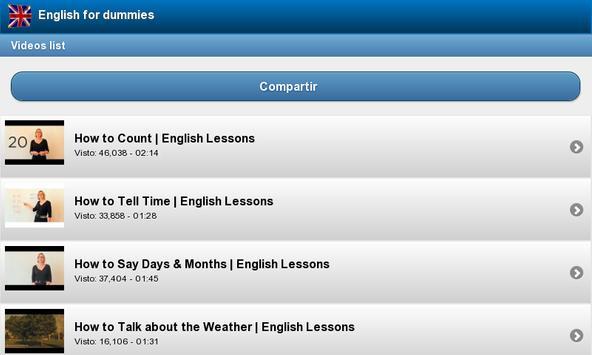 English for beginners screenshot 3