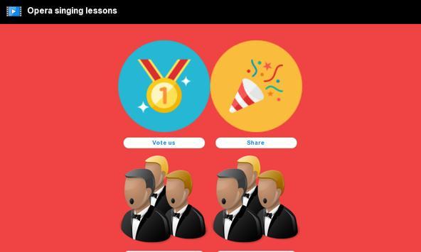 Opera singing lessons apk screenshot