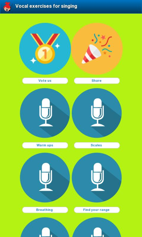 Vocal exercises for singing for Android - APK Download