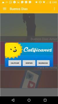 Buenos días: frases y mensajes apk screenshot