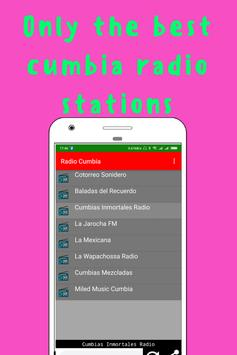 Radio Cumbia screenshot 1