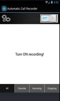 Auto Call Recorder screenshot 2