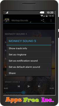 Monkey Sounds apk screenshot