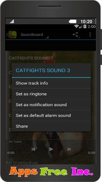 Cat fight Sounds apk screenshot