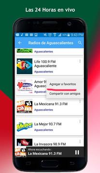 Radios of Aguascalientes screenshot 5
