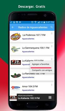 Radios of Aguascalientes screenshot 8