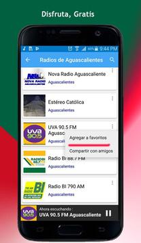 Radios of Aguascalientes screenshot 1