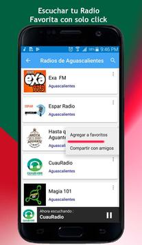 Radios of Aguascalientes screenshot 2