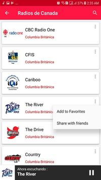 Radios from Canada screenshot 12
