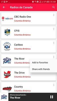 Radios from Canada screenshot 4
