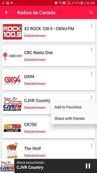 Radios from Canada screenshot 8
