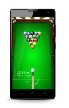 Snooker Screen Lock poster