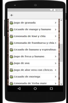 Recetas de comida saludable gratis screenshot 3