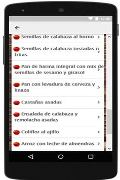 Recetas de comida saludable gratis screenshot 6