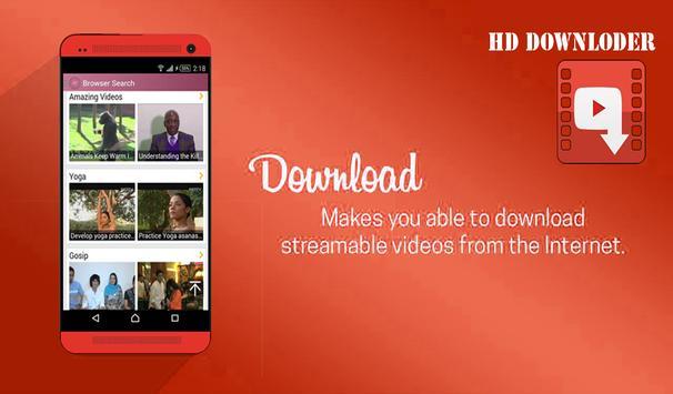 Video Downloder HD poster