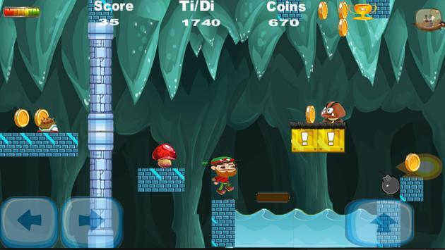 Jungle Adventure -Endless run screenshot 2