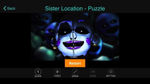 Free:FNAF Sister Location Tip screenshot 1