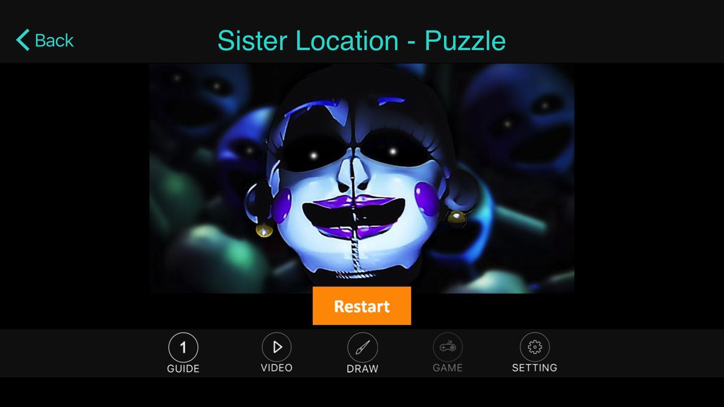 FreeFNAF Sister Location Tip Screenshot 1