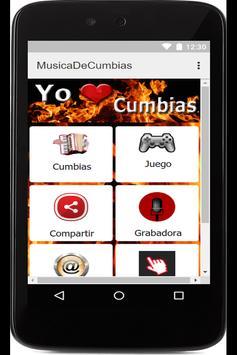 Musica De Cumbias Gratis poster