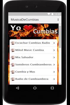 Musica De Cumbias Gratis screenshot 9