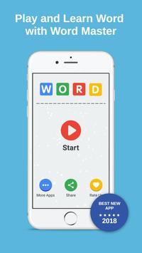 Word Master : Learn Words With Game Play poster