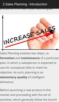 Learn Sales Planning apk screenshot