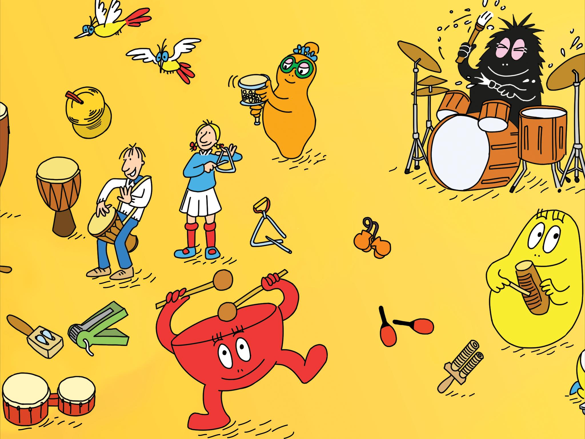 cheap for discount fb849 1ee5e Barbapapa musical instruments for Android - APK Download