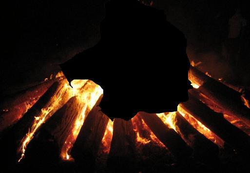 Fire photo frames screenshot 4