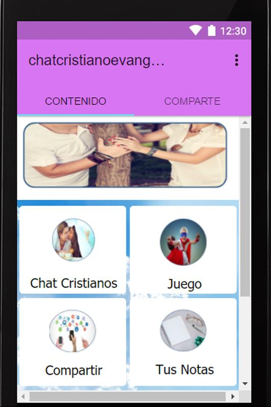 8e263e2f35a32 Chat Cristiano Evangelico Gratis Para Solteros for Android - APK ...