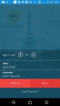 Taxi Karina screenshot 2