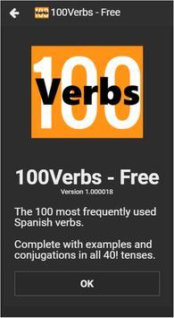 100Verbs (Free) poster