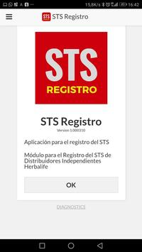 STS Registro poster