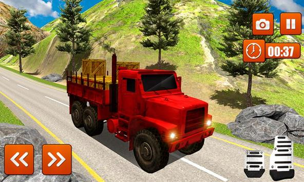 Indian Grand Real Truck Driver OffRoad Simulator poster
